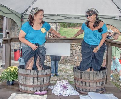 Stonewall Creek Vineyards Harvest Stomp